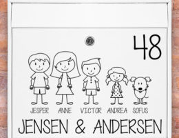 Postkasse-stickers-med-familie